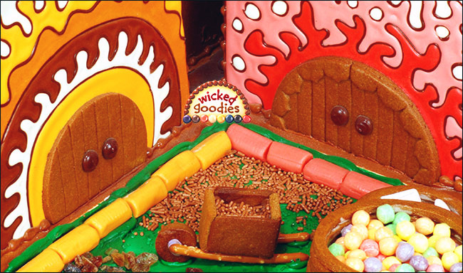 Gingerbread House Cookie Doors and Doorways  sc 1 st  Wicked Goodies & Gingerbread House Doors