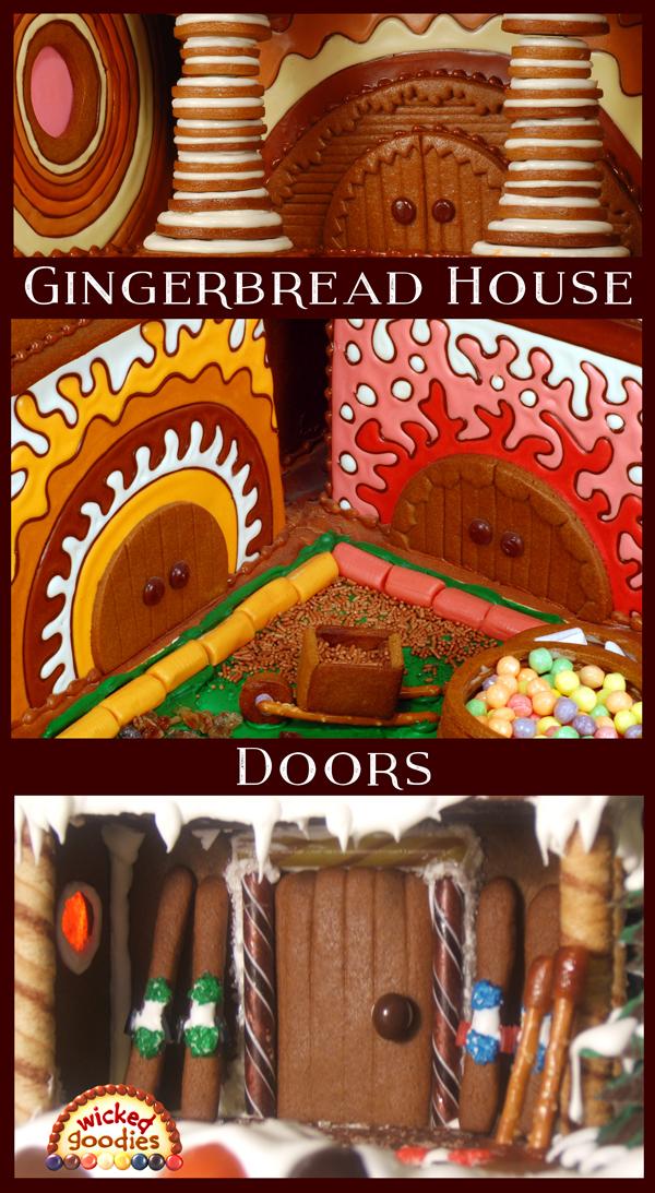 Gingerbread House Doors