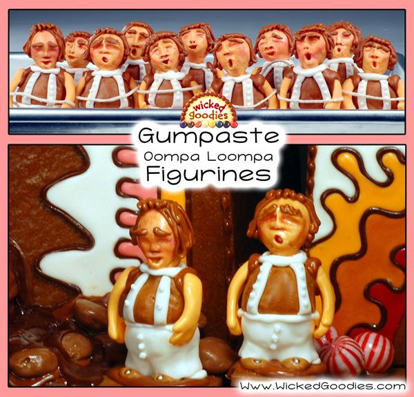 Gumpaste Oompa Loompa Figurine Tutorial