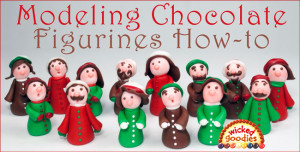 How to Make Modeling Chocolate Figurines