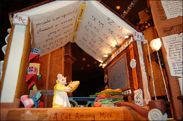 The Tale of Despereaux Mouse Gingerbread House