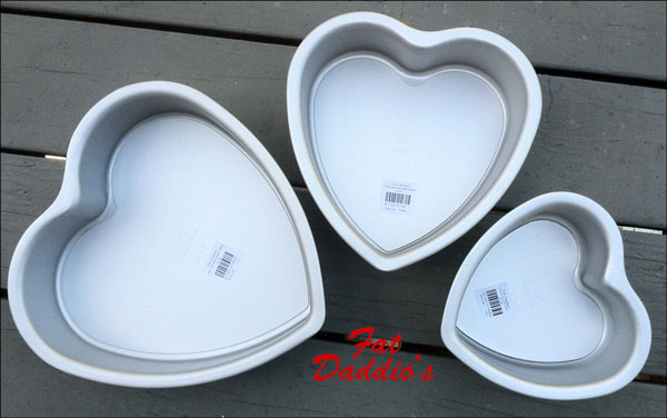 Heart Shaped Pan Set Giveaway Wicked Goodies