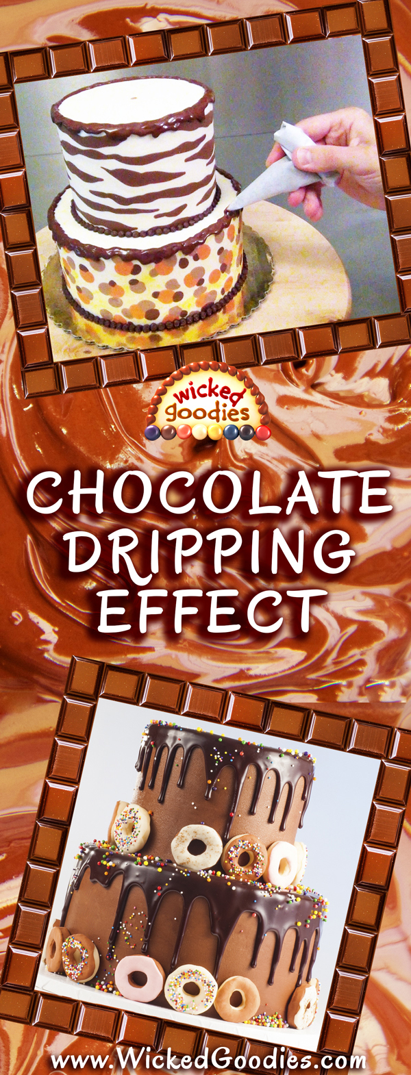 Chocolate Dripping Effect Tutorial