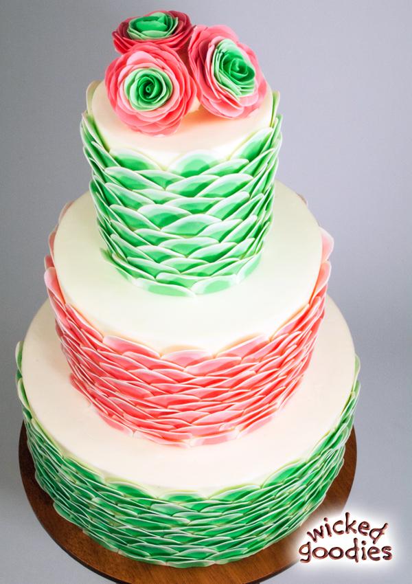 DIY Fake Cake Tiers