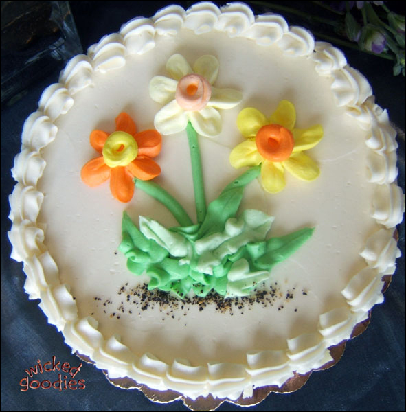 How To Make Daffodil Cake