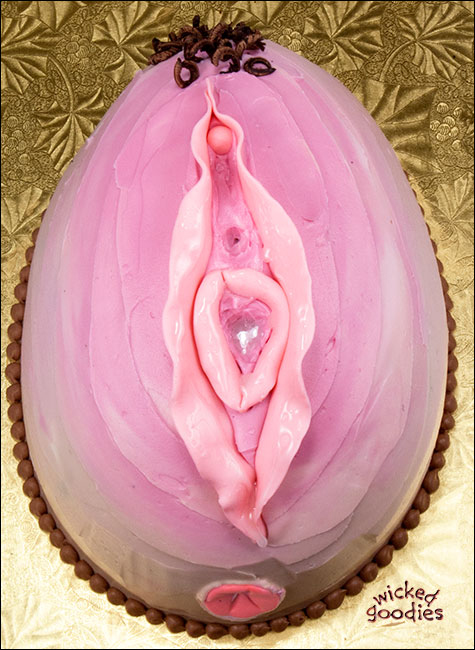 How to Make a Vagina Cake