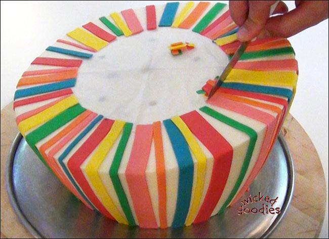 Modeling Chocolate Cake Stripes