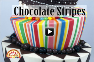 Modeling Chocolate Cake Stripes