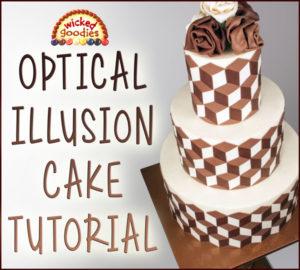 Optical Illusion Cake Design Tutorial