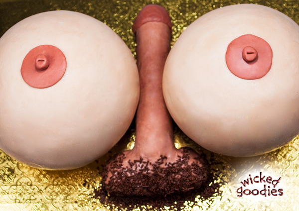 Penis Cake Decoration Tutorial