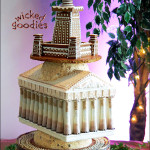 Ancient Monuments Wedding Cake