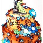 Celtic Fairy Wedding Cake