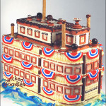 Ferry Boat Wedding Cake