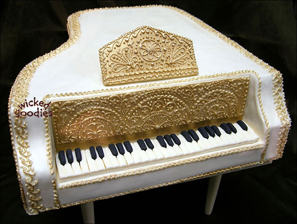 Grand Piano Cakes How To Make