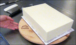How to Frost a Square or Rectangle Cake
