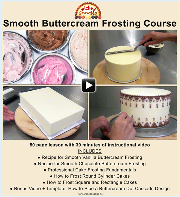 Smooth Cake Frosting Without Fondant