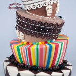 Topsy Turvy Wedding Cake