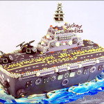 Air Craft Carrier Cake