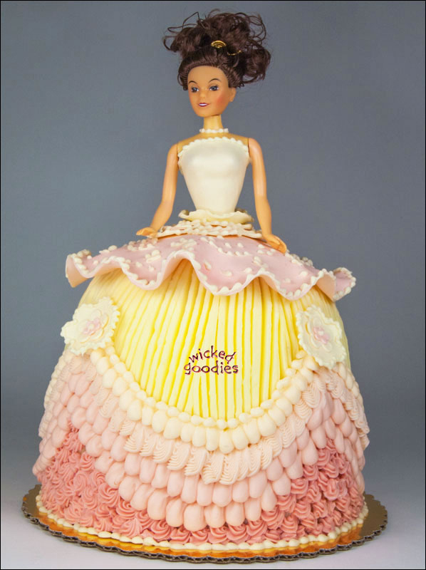Cake Decoration Doll : Doll Cake