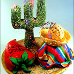 Cactus Cake, Sleeping Mexican Cake, and Chili Pepper Cake