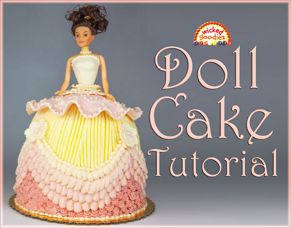Doll Cake Tutorial