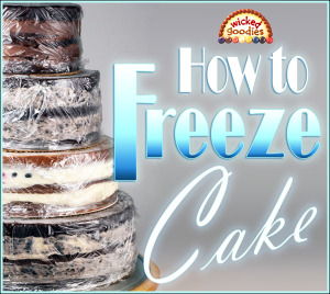 How to Freeze Cake