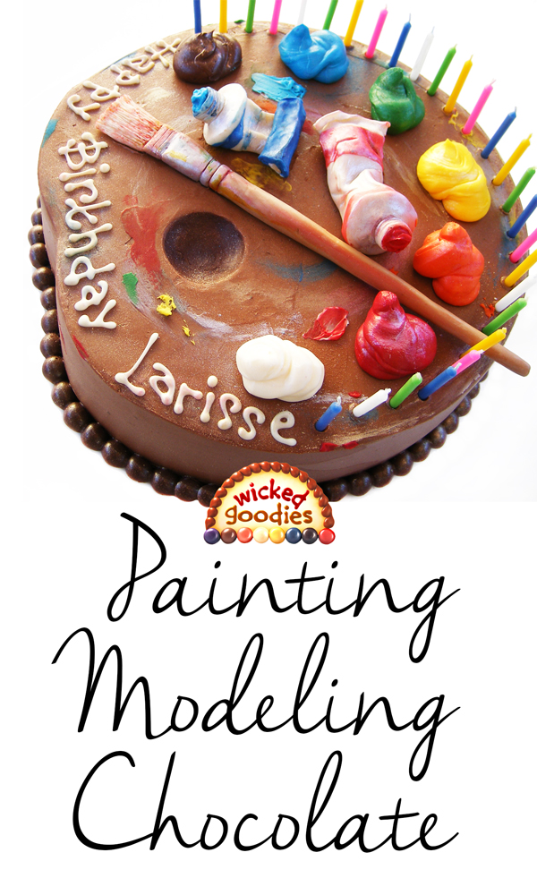 How To Paint Modeling Chocolate