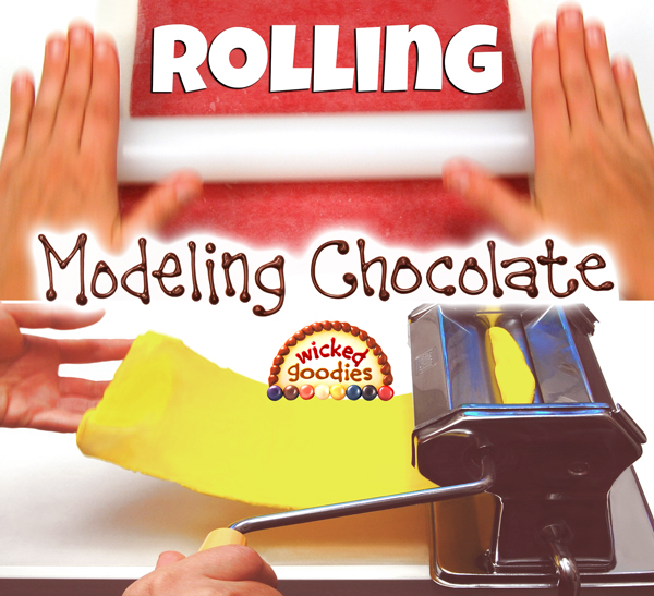 How to Roll Modeling Chocolate