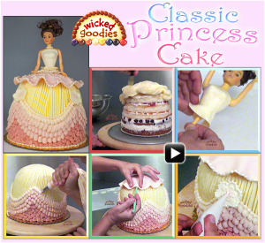 doll cake video tutorial - Cake Decorating Videos