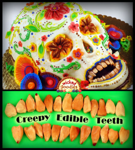 Creepy Edible Teeth Tutorial