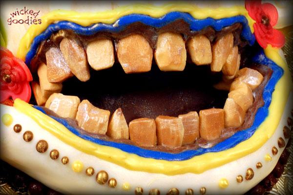 Creepy Edible Teeth Tutorial