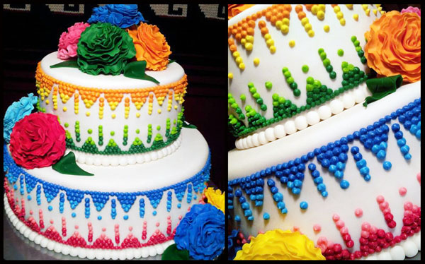 Mexican Fiesta Birthday Cakes