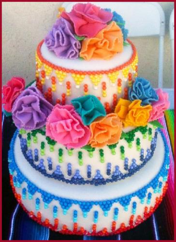 Pleasant Mexican Fiesta Theme Cake Themediocremama Com Funny Birthday Cards Online Fluifree Goldxyz