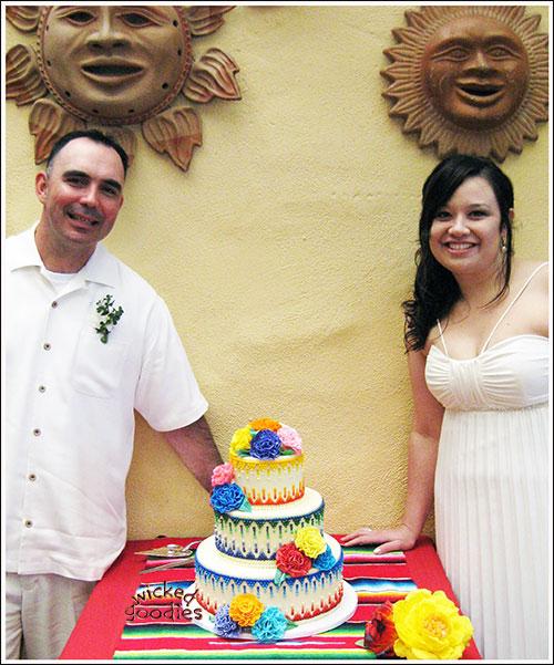 Mexican Fiesta Cake Design Ideas