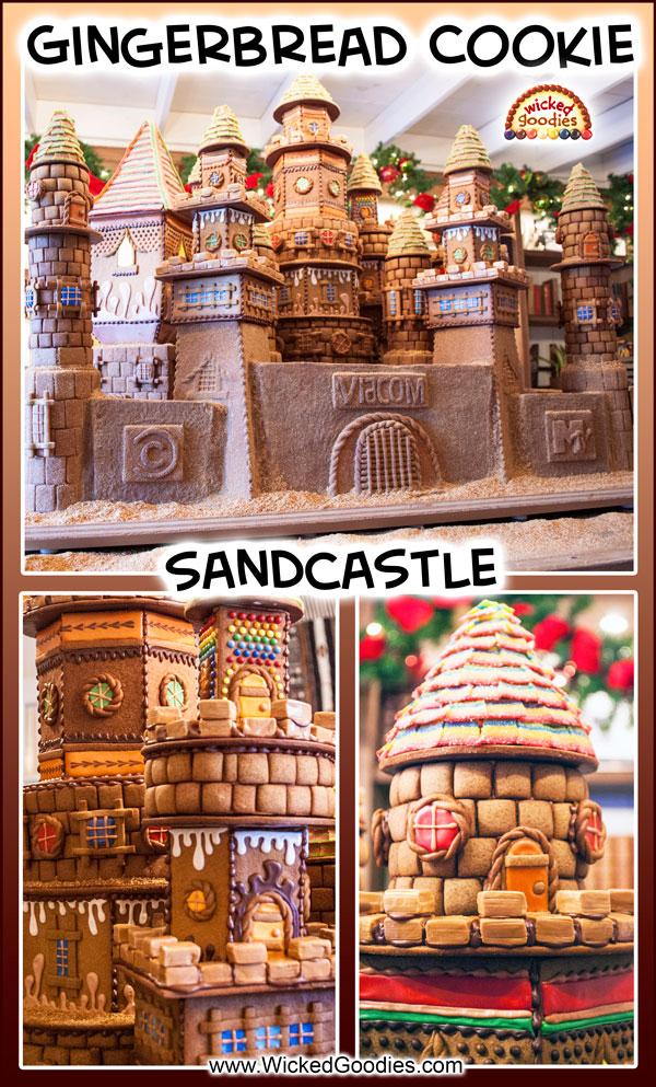 Gingerbread Cookie Castle