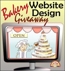 Bakery Website Design Giveaway
