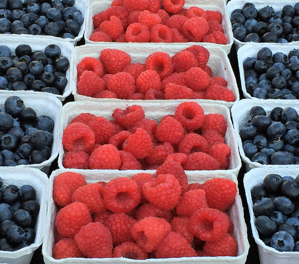 Raspberries and Cream Cake Filling