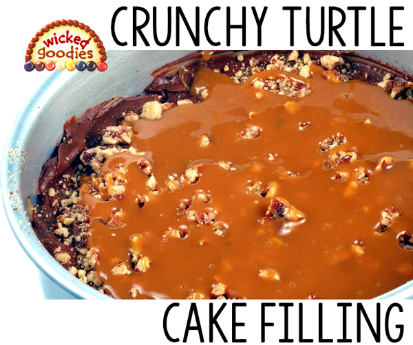 Crunchy Turtle Cake Filling Recipe