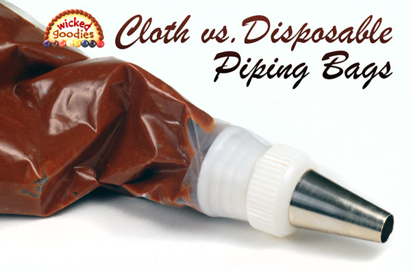 Cloth vs. Disposable Pastry Piping Bag
