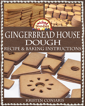 Gingerbread House Dough Recipe & Baking Instructions