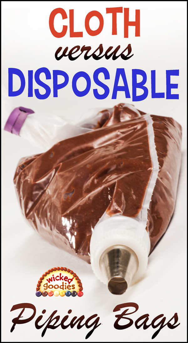 Cloth Versus Disposable Piping Bags