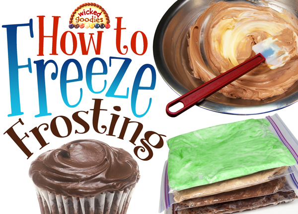 How to Freeze Frosting