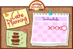 How to Plan and Time a Wedding Cake