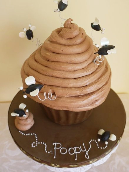 Poop Cake by Scrummy Mummy