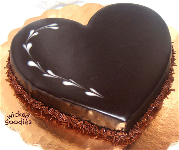 chocolate heart cake wallpaper - photo #24