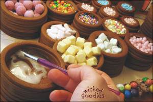 Edible Vats of Candy
