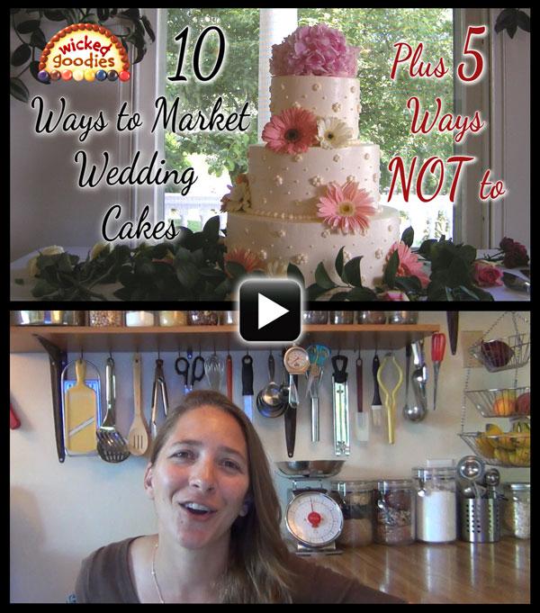 10 Wedding Cake Marketing Tips