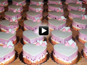 Valentine's Heart Cakes