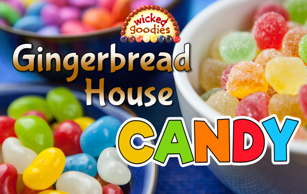 Gingerbread House Candy Decorating