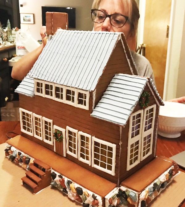 Gingerbread House Bed and Breakfast by Kellie Murray